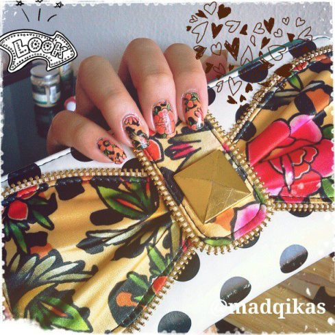 Iron Fist Lounge Leopard Nails & Lolita Love Wallet