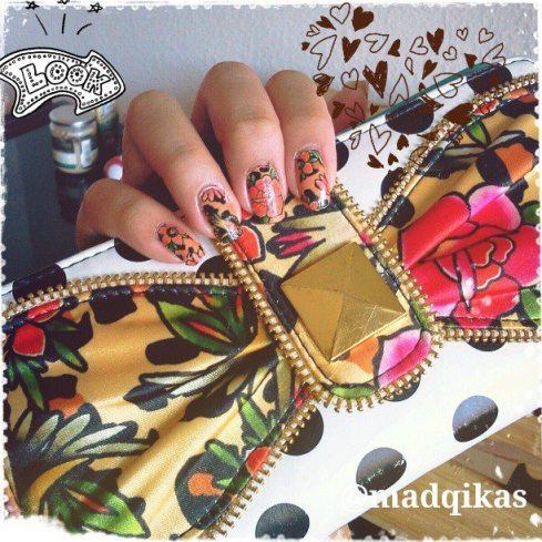Iron Fist Lounge Leopard Nails & Lolita Love Wallet